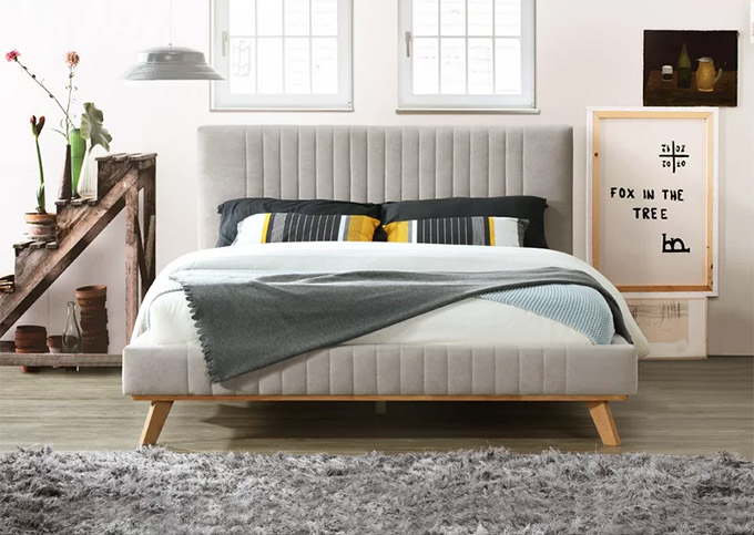 Gold Glass Dining Table, 11 Chic Mid Century Beds That Ll Complete Your Bedroom Posh Pennies