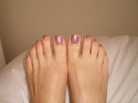 Pedicures  me like the shiny! | Posh pudding