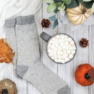 Fall, Pumpkins, Cozy Socks, White Scarf, Hot Chocolate, Fall Leaves