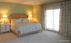 Coastal Style Master Bedroom