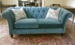 Tufted Durable Velvet Sofa