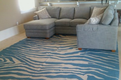 Beach House sectional with chaise