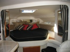 Master Stateroom Bedding and Curtains
