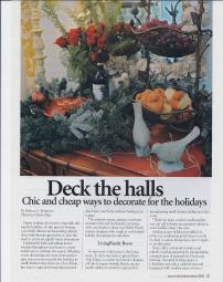 Holiday Decorating Article, Pg. 3