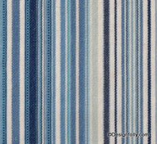 Deck Chair Stripe Fabric Indigo