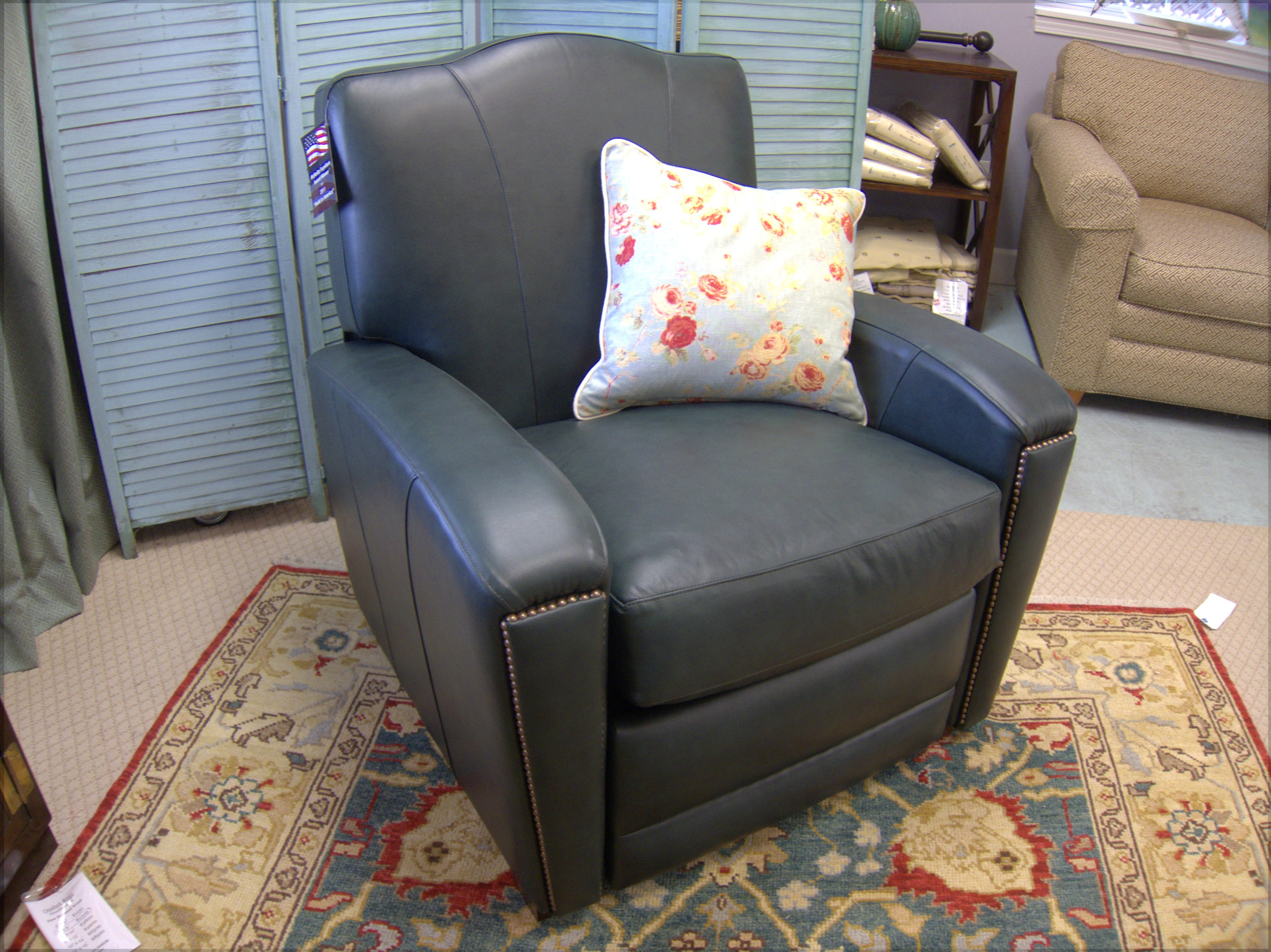 chair under cover black wicker rocking outdoor gorgeous french deco green leather recliner club