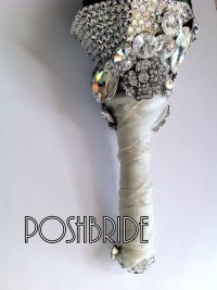 bride bouquet holder | PoshToriDiary of a Pink Diamond