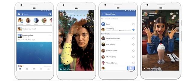 """""""Facebook Stories"""", la nueva versión de la red social"""
