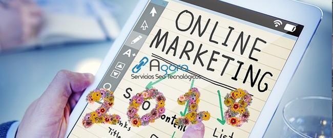 Tendencias en marketing online para el 2018