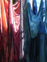 madder, logwood & indigo blends fresh from dyepot