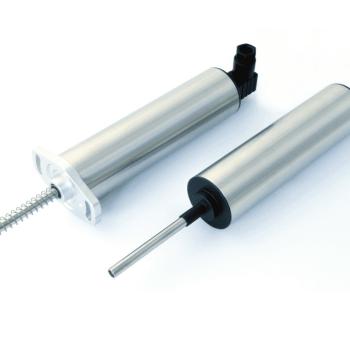 P133 Capteur de déplacement inductif linéaire à débattement limité
