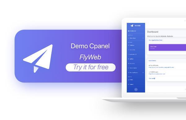 FlyWeb for Web to App Convertor Flutter + Admin Panel - 36