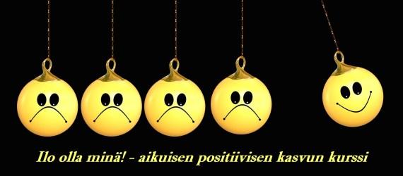 Ilo olla minä! – aikuisen positiivisen kasvun kurssi (ent. ilmapallot ja kivet – hyvinvointikurssi)