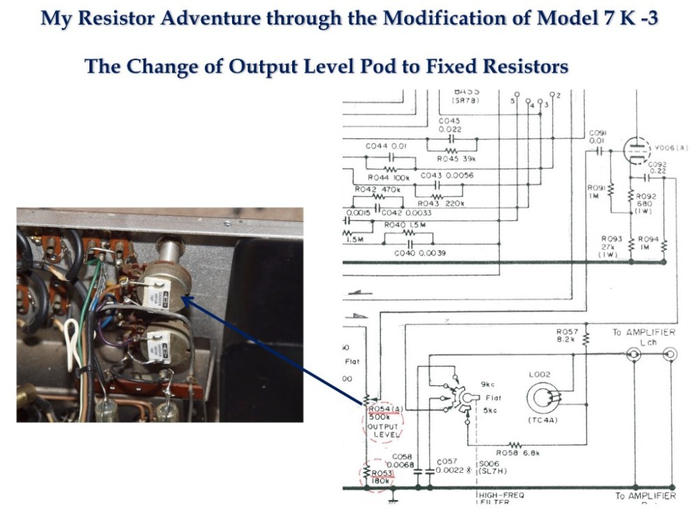 medium resolution of in the case of the marantz 7 output level potentiometer the total gain of my tone amp is 12 5 db according to kato san s recent accurate measurement