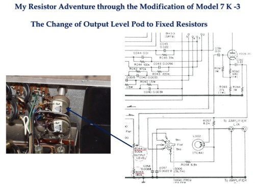 small resolution of in the case of the marantz 7 output level potentiometer the total gain of my tone amp is 12 5 db according to kato san s recent accurate measurement