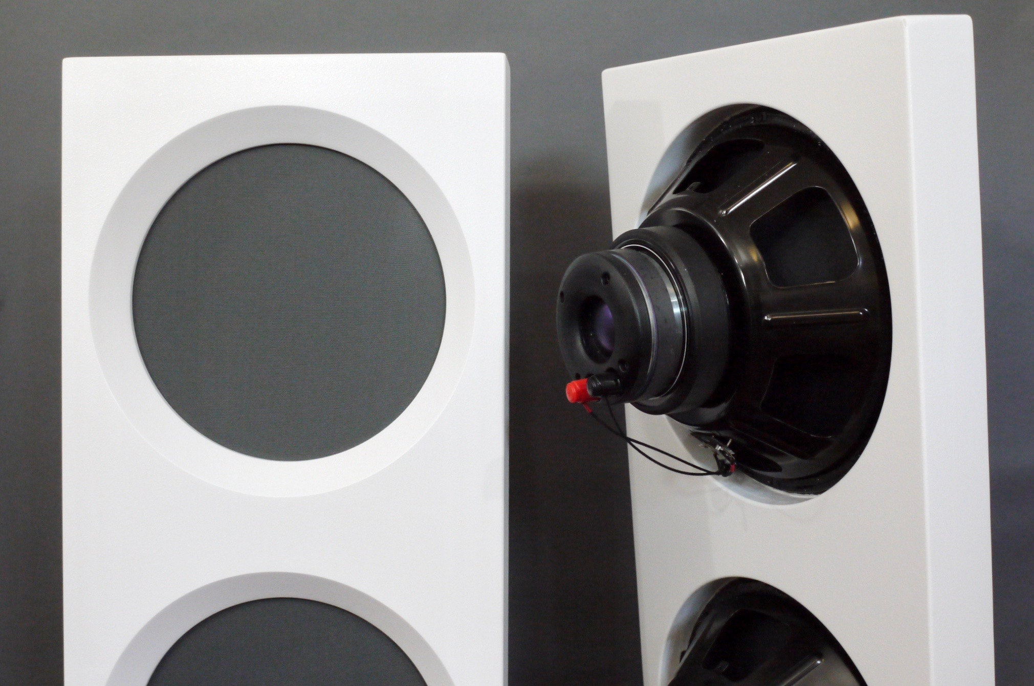 Spatial Audio Hologram M4 Triode Master Loudspeakers: Small Space, Big Sound!