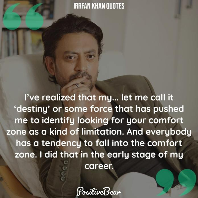 Irrfan Khan Quotes English