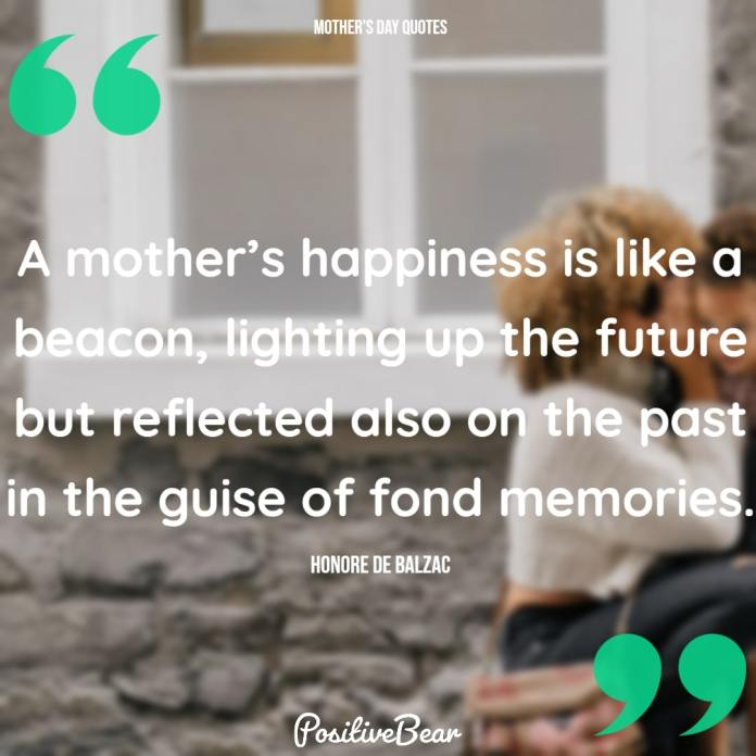 A mother's happiness....