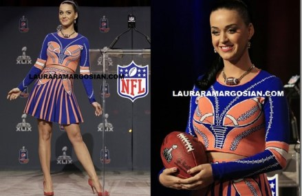 Katy Perry Announces Lion And Sharks At Super Bowl XLIX