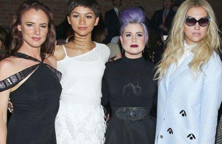Kesha stuns the crowd at New York Fashion Week