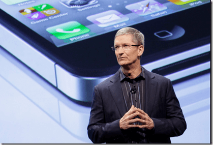 Tim Cook Stands As A Great Leader And Example At Apple Inc..