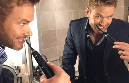 Kellan Lutz Loves Embracing His Fans And Scuba Diving!