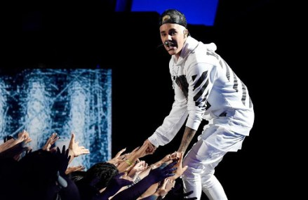 """Justin Bieber 'Think It Up' Charity Telethon Video: See Him Perform """"What Do You Mean?"""""""