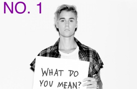 "Justin Bieber Lands No. 1 For ""Billboard Hot 100! 'What Do You Mean?'"