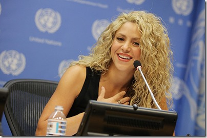 Shakira Promotes Early Childhood Development with Fisher-Price Project!