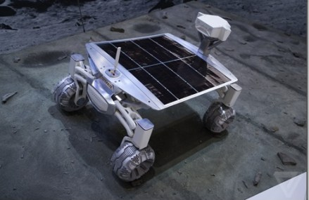 Audi's Amazing Robotic Rover. Let's Put it On The Moon!
