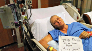 Jon Bon Jovi Surprises Fan Battling Stage IV Lung Cancer ..