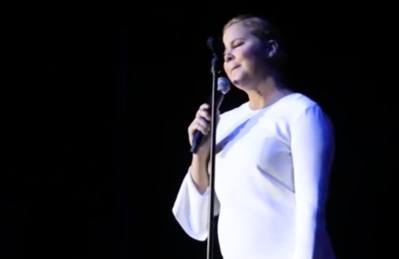Amy Schumer stands up against disrespectful audience member! Check it out!