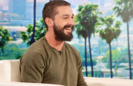 Shia LaBeouf got married and he's talking about it on Ellen! Check it out!