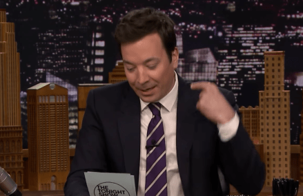 Jimmy Fallon was hilarious on last night's episode of Tonight Show.