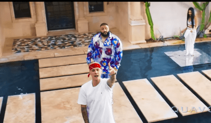Justin Bieber in DJ Khaled's new music video! And he's