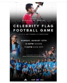 Snoop Dogg and Matt Barnes will participate in Annual Athletes vs Cancer!