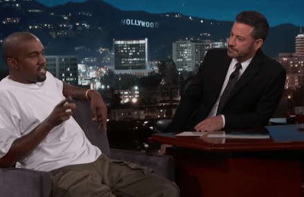 Jimmy Kimmel's Full Interview with Kanye West!