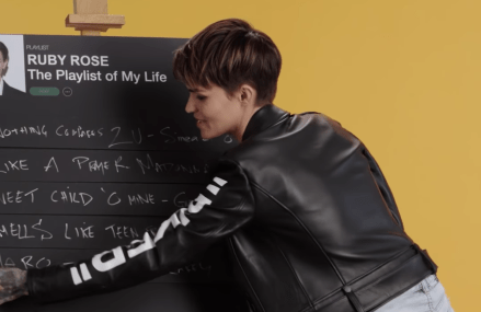 Ruby Rose Creates the Playlist to Her Life | Teen Vogue