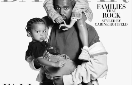 Kanye West featured on Harper Bazaar magazine with an inspiring quote!