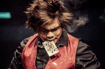 <center>Positive Celebrity Exclusive: AGT's Shin Lim talks magic, charity and more!