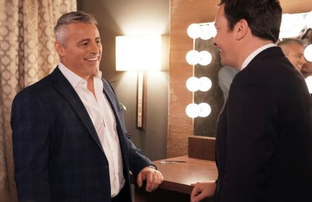 Matt LeBlanc and Jimmy Fallon talk FRIENDS and more!