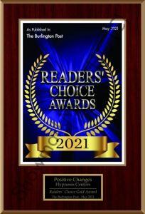 Burlington Post Reader choice 2021