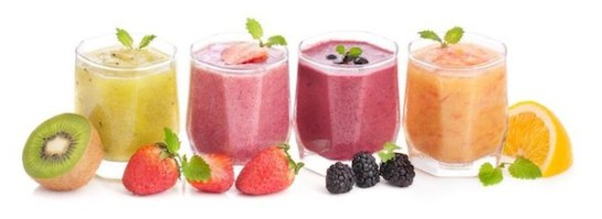 sevral smoothies