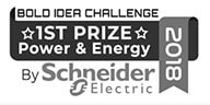 1st prize, power and energy by Schneider icon