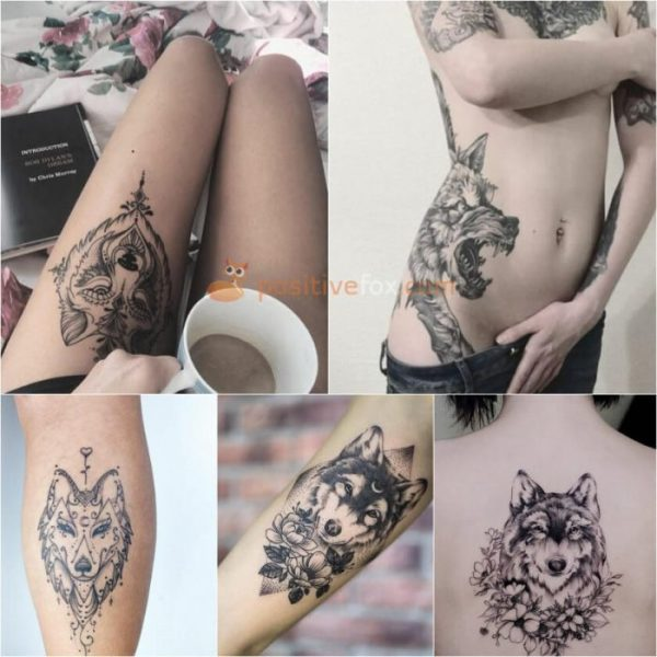 20 Wolf Tattoos For Girls Ideas And Designs