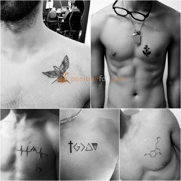 Mens Tattoos Small Chest Best Tattoo Ideas