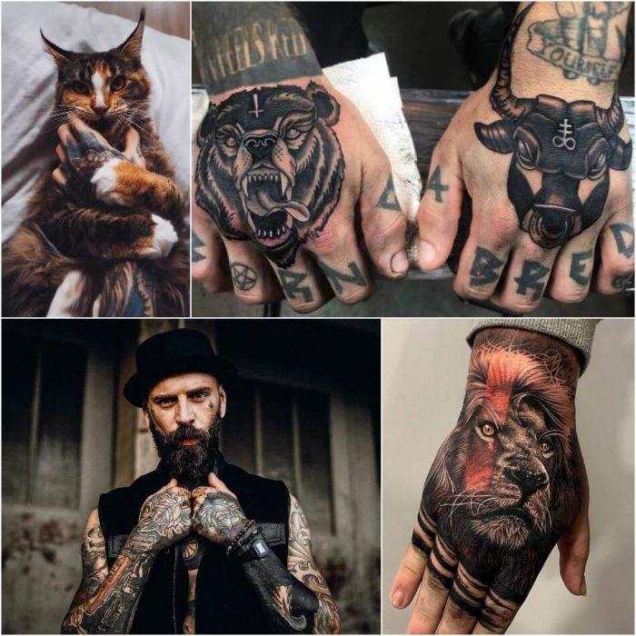 Best Hand Tattoos Men