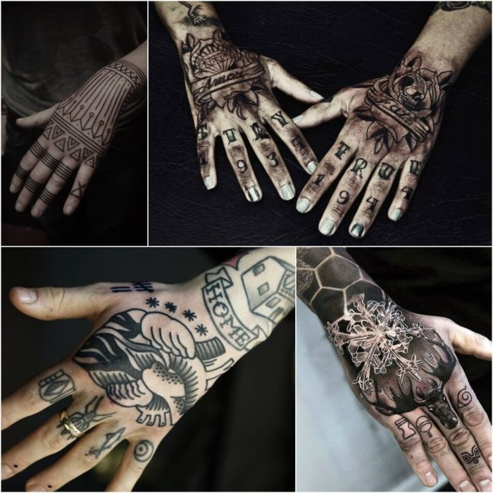 Pics Of Tattoos On Hand