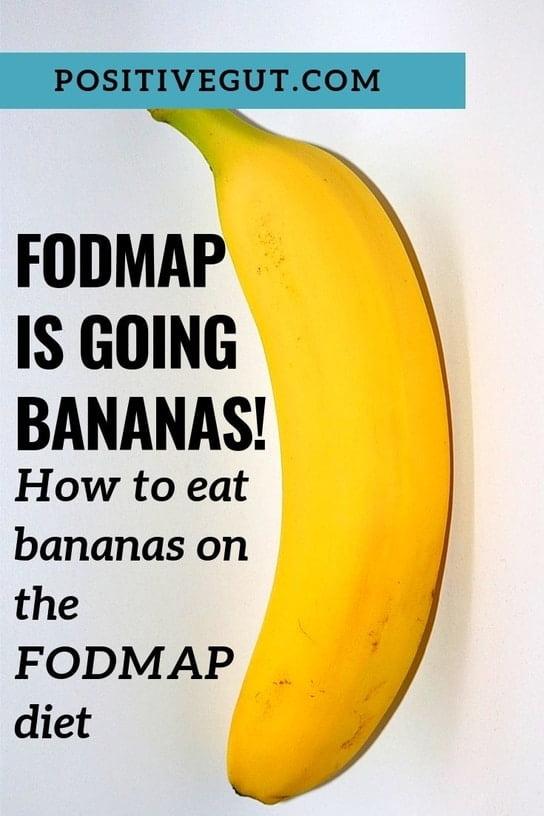 FODMAP bananas