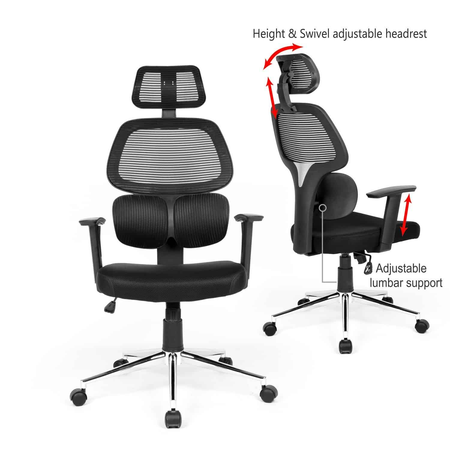 Lower Back Support For Office Chair Whats The Best Ergonomic Chair For Lower Back Pain